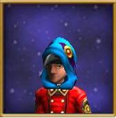 Hat Raven Hood Male
