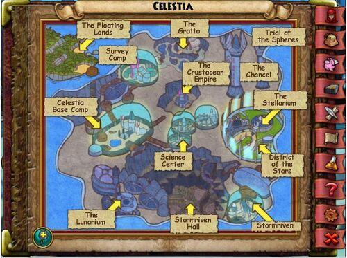 Celestia Map