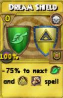 Dream Shield Treasure Card