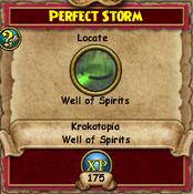 Perfect Storm - KrokotopiaQuests