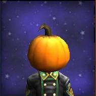 Hat WC Plain Pumpkin Mask Male