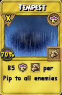 Tempest Treasure Card