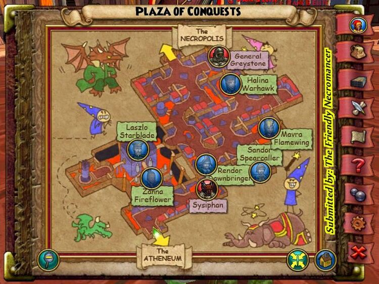 Plaza of conquests