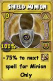 Shield Minion Treasure Card