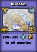 Blizzard Item Card