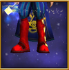 Glimmering Boots of Neutrality Male