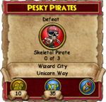 Pesky Pirates