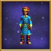Robe Drakeskin Tunic Male