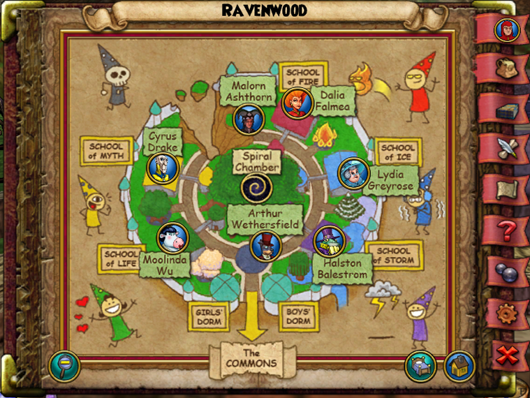 Ravenwood | Wizard 101 Wiki | FANDOM powered by Wikia
