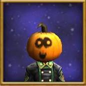 Hat WC Boo Pumpkin Mask