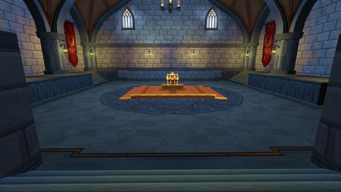 Δωμάτιο Χρυσού Κλειδιού Κάστρου Σκοτεινόβαλτου