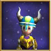 Hat Helm of Zeal Female