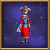 Robe Cardinal's Uniform Female