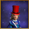 Blazing Hat of the Opus Male