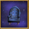 Worn Padded Chair