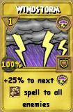 Windstorm Treasure Card