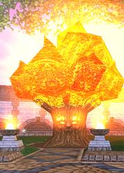 Bernie the Fire Tree