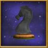 Black Knight Chesspiece