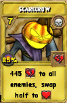 Scarecrow Treasure Card