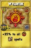 Wyldfire Treasure Card