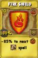 Fire Shield Treasure Card