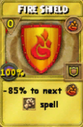 Fire Shield Treasure Card
