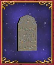 Hieroglyphic Storm Tablet