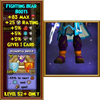 Boots Fighting Bear Boots Male