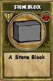 Stone Block (Reagent)