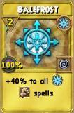 Balefrost Treasure Card