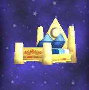 Lunar Emblem Bed