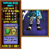 Boots Howling Bear Boots Male