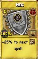Hex Treasure Card
