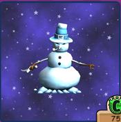 Evil Snowman Transformation