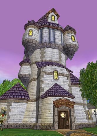 Golem Tower