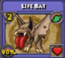 Life Bat Item Card