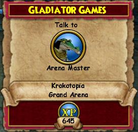 Gladiator Games   Wizard 101 Wiki   FANDOM powered by Wikia