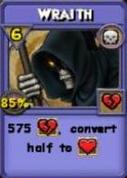 Wraith Item Card