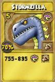 Stormzilla Treasure Card