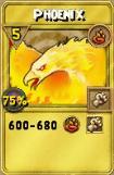 Phoenix Treasure Card