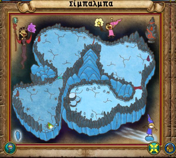 Χάρτης Σίμπαλμπα