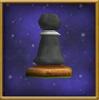 Black Pawn Chesspiece