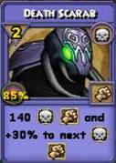 Death Scarab Item Card