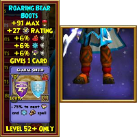 Boots GH Roaring Bear Boots Male