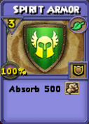 Spirit Armor Item Card
