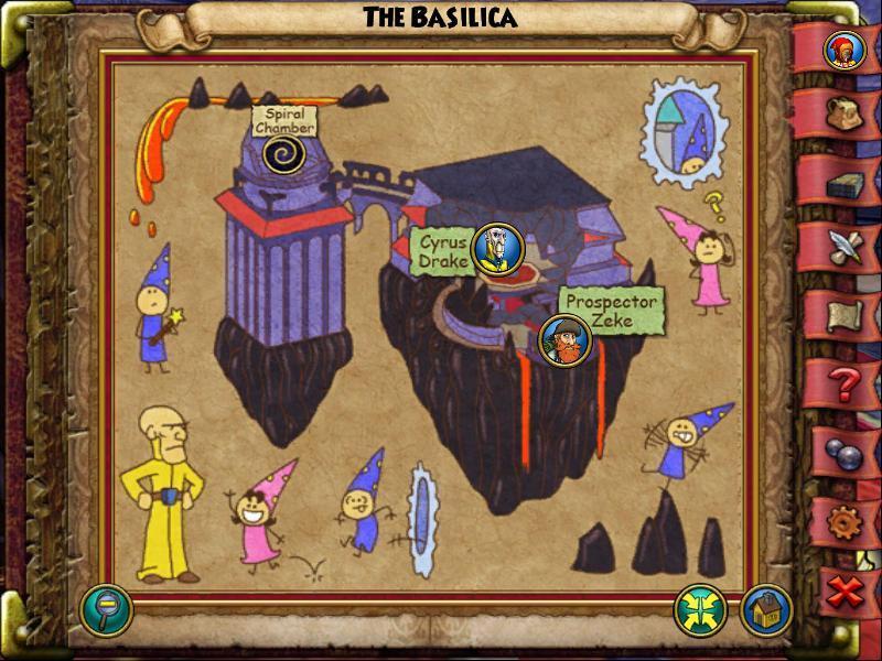 The Basilica Map