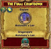 The Final Countdown Part 2