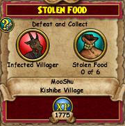 Stole Food - MooShuQuests