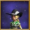 Hat Cowl of Calamity Female