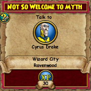 Not so Welcome to Myth 3
